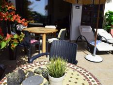 Beatifully decorated Patio